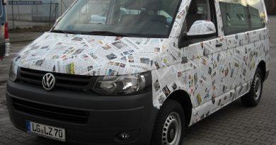 Vollfolierung Landeszeitung Lüneburg